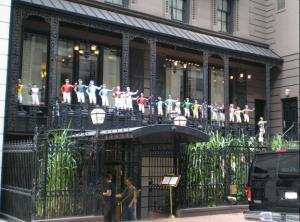 21 Club in New York City.