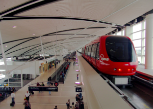 Detroit Metro Airport, via Wikipedia