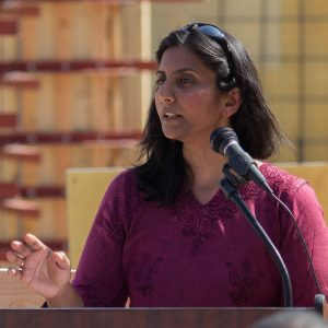 Portland Councilwoman Kshama Sawant, via Wikipedia.