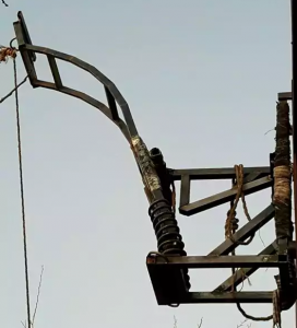 A catapult found at the Mexico-Arizona border, via CBP.