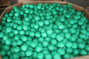 Marijuana was found stuffed inside bundles that resembled limes.