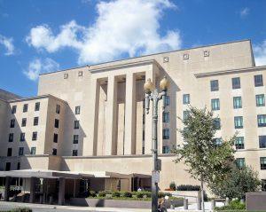 U.S. Department of State headquarters in Washington D.C.
