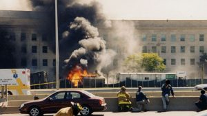 One of a recently released batch of photos of the 9/11. Photo via Wiki.