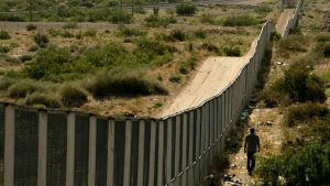 An existing wall at border of Mexico. Photo via Congress.