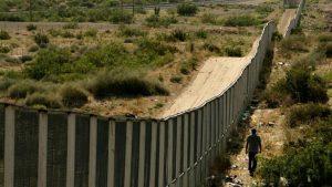 An existing wall at border of Mexico. Photo via Congress.
