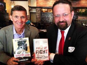 Sebastian Gorka, right, via Facebook.