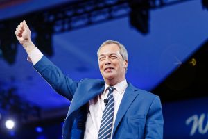 Brexit campaigner Nigel Farage, by Michael Vardon, via Wikipedia.