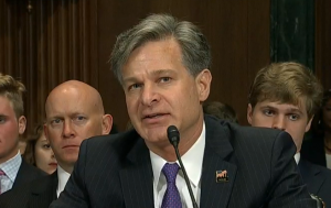 Christopher Wray (File photo)