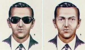 FBI sketch of D.B. Cooper