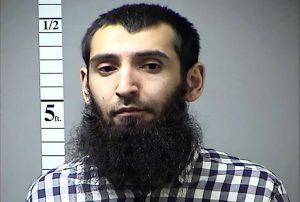 Suspected terrorist Sayfullo Saipov.
