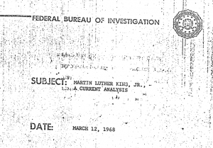 martin luther king fbi document