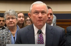 Attorney General Jeff Sessions testifies before the House Judiciary Committee on Tuesday.