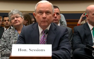 Attorney General Jeff Sessions testified before Congress about contacts between Trump's campaign and Russia.